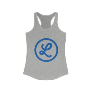 "Lomita Chamber ""L"" Logo on Women's Ideal Racerback Tank"