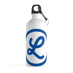 "Lomita Chamber ""L"" Logo on Stainless Steel Water Bottle"