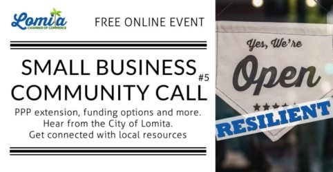 Lomita Chamber of Commerce Small Business Community Call