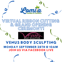 Lomita Chamber of Commerce Virtual Ribbon Cutting