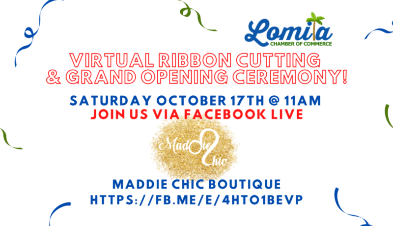 Ribbon Cutting Maddie Chic