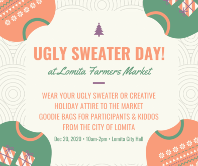 Ugly Sweater Day at the Market