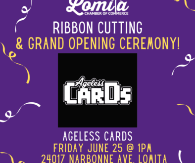 Ribbon Cutting - Ageless Cards IG