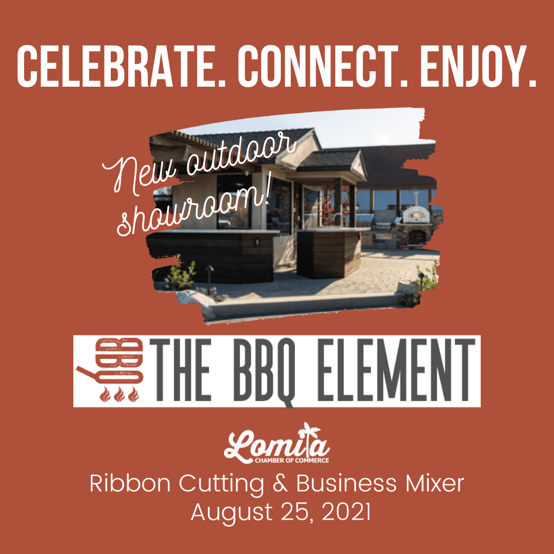AUGUST MIXER & RIBBON CUTTING August 25th   5:30pm The BBQ Element