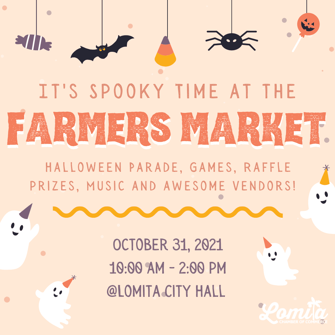 HALLOWEEN AT THE MARKET | October 31st | Family fun