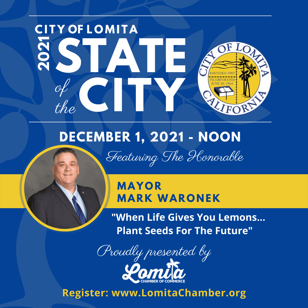 LOMITA STATE OF THE CITY | December 1st | Get event info